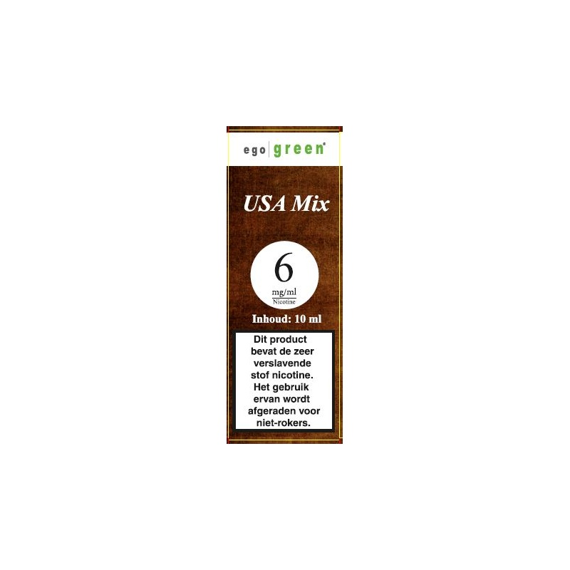 | USA Mix Tobacco Ego Green vloeistof voor e-sigaret