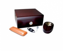 Humidor set cherry 50 sigaren